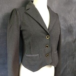 MARC by MARC JACOBS | Gray Cropped Blazer